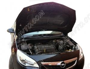 "Упор капота Opel Astra J (2009-)(в сборе с кронштейном) ""ТехноМастер"""