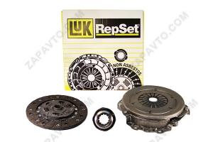 К-т сцепления 2101-2107 (корзина, диск, подшипник) LUK Repset