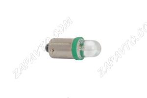 Светодиод - Т8 12 V LED LAMP зеленый (габариты)