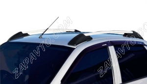 Ложементы багажника (рейлинги) 1118 Калина, 2190 Гранта (серебристые) Vamer