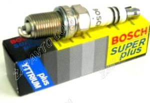 Свеча зажигания BOSCH WR7DCX+ 8кл. SUPER PLUS инжектор Германия 0 242 235 707