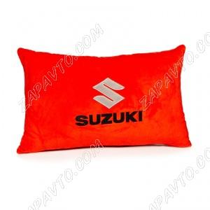 Подушка декоративная SUZUKI (красная)