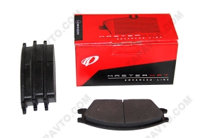 Колодки тормозные передние Hyundai Accent REMSA (4шт)