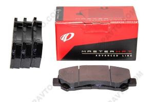 Колодки тормозные передние Nissan Qashqai, Maxima REMSA (4шт) BPM131800
