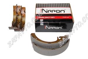 Колодки тормозные задние 2108-2110 Allied Nippon ABS1701
