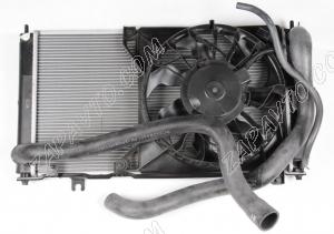 Радиатор 2190 Гранта (основной, в сборе, МКПП, без кондиционера)