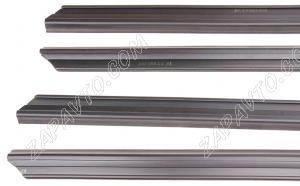 Уплотнитель стекла внутренний, наружний с.о. 2108 (4шт.) бархотки