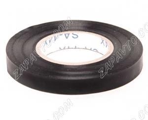 Изолента черная 8мм х 15м