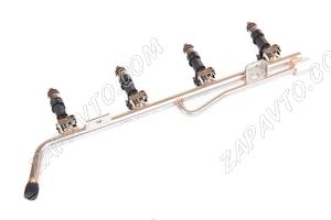 Рампа топливная 21104 BOSCH в сборе с форсунками BOSCH (1.6L)
