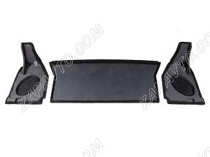 Полка акустическая деревянная 21213 Нива (с боковинами) (10/24 мм)