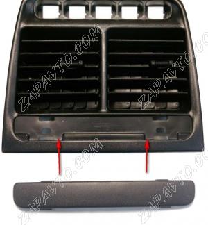 Заглушка дефлектора вентиляции центральная 2112