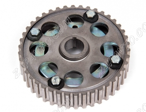 Шкив зубчатый разрезной впускного распредвала (металлический) 2170 А141