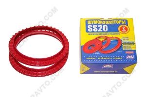 Шумоизолятор нижний (для передней, конусообразной пружины) 1118 Калина SS20 (2шт.)