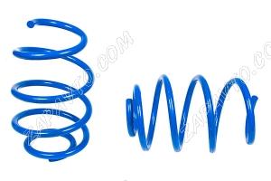 Пружины передних стоек 1119, 2170, 2190 ТЕХНО РЕССОР (драйв, голубые -90мм) 2шт