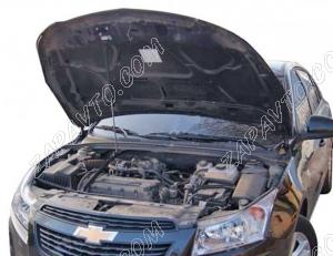 """Упор капота Chevrolet Cruze (2009-) """"ТехноМастер"""""""
