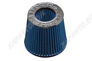 Фильтр воздушный нулевого сопротивления Pro.Sport Mega Flow синий хром (150х130.D70)