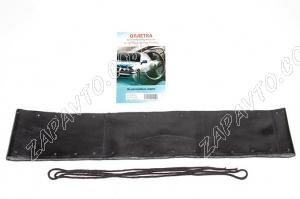 Чехол для рулевого колеса (оплетка со шнуровкой) (размер L 39-41см) натуральная кожа