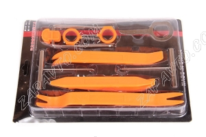 Набор инструментов №9 для снятия пластиковых панелей автомобиля (9 предметов)