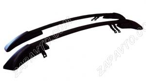 Ложементы багажника (рейлинги) 2191 Гранта лифтбек (черные) Vamer