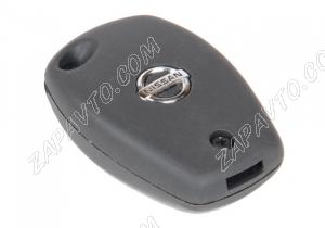 Корпус ключа зажигания Nissan (резиновые кнопки)