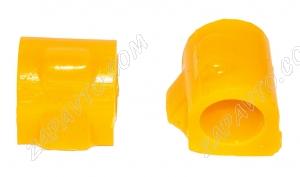 Втулка штанги стабилизатора Ларгус VTULKA (желтая, полиуретан) 2шт. 6001547140/6001549311 17-01-121