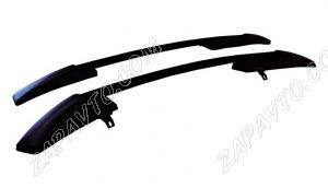 Ложементы багажника (рейлинги) 1119 Калина хетчбек (черные) Vamer