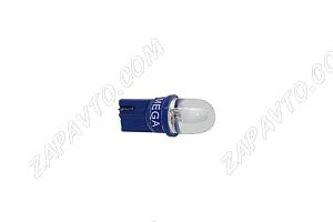 Светодиод - Т10 12 V LED LAMP голубой (габариты,без/цок.)