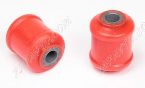 Сайлентблок нижнего рычага 2108 С.П.Б (полиуретан, красный) 2шт.  VZ-1-1-102-80