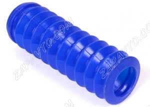 Пыльник заднего амортизатора 2108-2110, Калина, Приора, Гранта (синий, силиконовый)