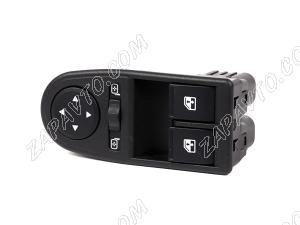 Блок кнопок управления стеклоподъемниками 2195 Datsun (2 кнопки) 2195-3709810