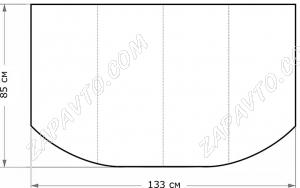 Утеплитель двигателя №6 2101-2107, Калина,Ока, Jaguar S-TAPE, BMW (6,3), Volkswagen Pointer