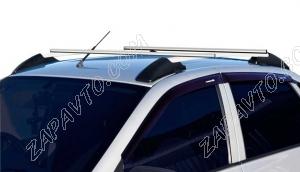 Ложементы багажника (рейлинги) 1118 Калина, 2190 Гранта с поперечинами (серебристые) Vamer 165х18х18