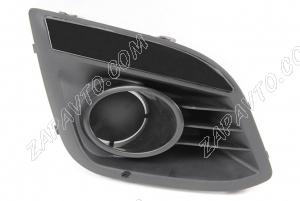 Заглушка переднего бампера (противотуманных фар) Калина 2 (правая, вставка неокрашенная)