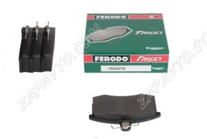 Колодки тормозные передние 2108-2110, Калина, Приора, Гранта FERODO (4шт) зеленые