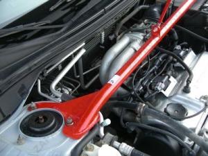 "Упор капота Mitsubishi Lancer IX (2003-2007) (на растяжку, без кронштейна) ""ТехноМастер"""