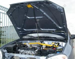"Упор капота Chevrolet Lanos (2005-), Daewoo Lanos, Sens(1997-2002) ""ТехноМастер"" (на растяжку)"