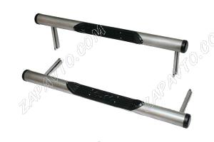 Пороги 21213-21214 Нива труба с проступью, с пластиковой заглушкой  ТС