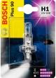 Лампа галогеновая H1 12-55 +90% BOSCH
