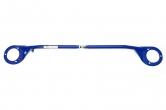 """Растяжка передних стоек Hyundai Accent II (2000-) (регулируемая) """"ТехноМастер"""" (окрашенная)"""