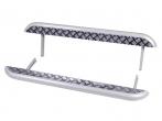 Пороги 21214, Нива Урбан с алюминиевым листом 63,5 мм Металл-Дизайн