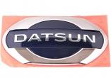 Знак заводской Datsun (задний)