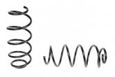 Пружины передних стоек 1119, 2170, 2190 ТЕХНО РЕССОР (стандарт, черные) 2шт