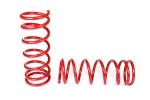 Пружины передней подвески 2101 ТЕХНО РЕССОР (драйв, красные -30мм) 2шт