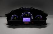 Комбинация приборов электронная 1118, 2112, 2170 FLАSH2-L до июля 2012 г.в. (красн.)