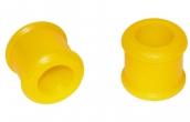 Втулка стойки стабилизатора верхняя 1118, 2170 (20мм) С.П.Б. (желтая) 2 шт. VZ-1-0-101-65