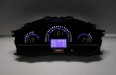 Комбинация приборов электронная 1118, 2112, 2170 FLАSH2-L до июля 2012 г.в. (зел.)