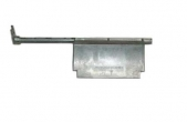 Заслонка отопителя 2110 алюминиевая маленькая нового образца