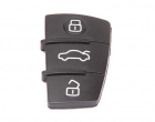 Кнопки для пульта выкидного ключа замка зажигания по типу Audi, Audi эконом для автомобилей ВАЗ
