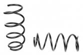 Пружины передних стоек Веста ТЕХНО РЕССОР (стандарт, черные) 2шт