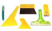 Набор инструментов №7 для тонировки автомобиля (6 предметов)